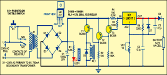 12v auto on off battery charging circuit diagram images battery simple auto turn off battery charger circuit diagram wiring
