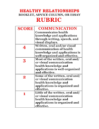 choose respect final task assessment rubric 3