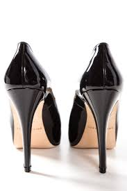 brian atwood brian atwood black patent leather platform pumps sz 35 5 shoes
