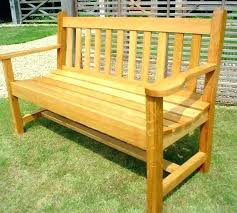 outdoor bench ideas how outdoor bench with backrest plans