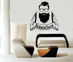 beauty salon wall decals barber logo hipster vinyl stickers art decor wall sticker es wall stickers from xymy757 12 07 dhgate com
