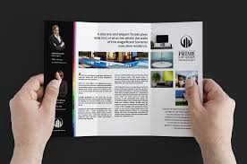 real estate trifold brochure brochure templates on creative market