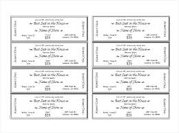 Car Wash Fundraiser Tickets Template Free Syncla Co