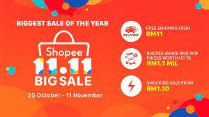 Shopee 11.11 Big Sale TVC 2018 - YouTube