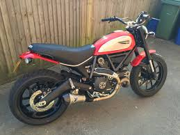 scrambler icon in red with extras for sale ducati scrambler forum