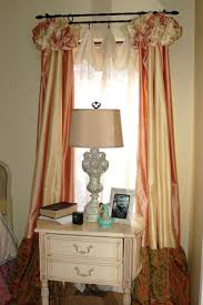 custom curtains beyond the screen door