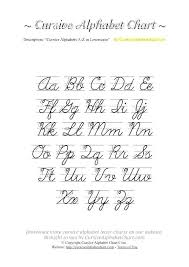Upper And Lowercase Abc Chart Uppercase Cursive Worksheets Broil Info