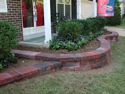 Small Picture Red Brick On Front Garden Landscape Pavers Landscaping Design