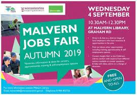 Local Jobs Fair Returns To Malvern Worcestershire Lep