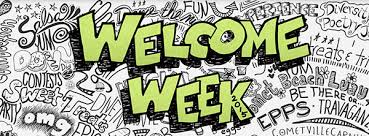 Image result for welcome week