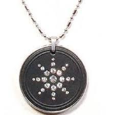 quantum science scalar energy diomand pendant with ring cogent mobile chip