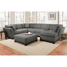 Gray Sofa With Chaise Grey Sectional And Recliner Charcoal Sleeper
