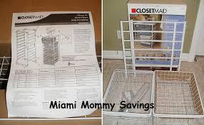 closetmaid 4 drawer kit