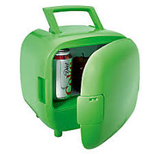 office mini refrigerator. portable warmcold mini fridge apple green office refrigerator