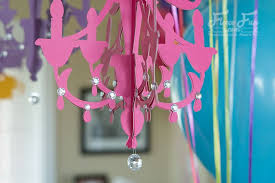 learn how to make a paper chandelier with this easy step by step tutorial i
