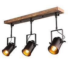 lighting spotlights ceiling. LNC Wood Close To Ceiling Track Lighting Spotlights 3-Light Lights L