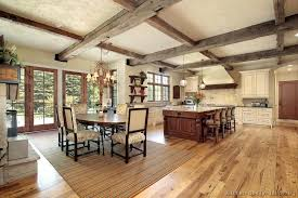 rustic white kitchens. Rustic Country Kitchen Designs Brilliant Design Ideas Cabinets Traditional Two Tone S Antique White Wood Hood Island Luxury Kitchens