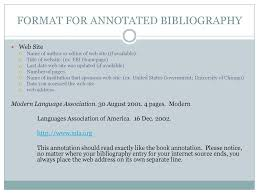 Annotated Bibliographies Ppt Download