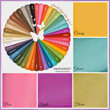New Ctmh Colours Color Mixing Chart Close To My Heart