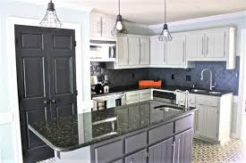 ultimate kitchen cabinets home office house. Painted Kitchen Cabinets - Light And Dark Ultimate Home Office House