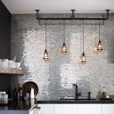 industrial kitchen lighting pendants. The Lights Make Kitchen. (And A Beautiful Backsplash Doesn\u0027t Hurt Either · Industrial Pendant Kitchen Lighting Pendants T