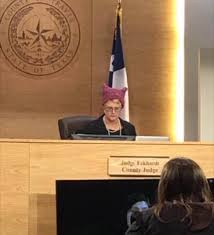 Texas Judge Under Investigation After She Wears Pussy Hat in Court.