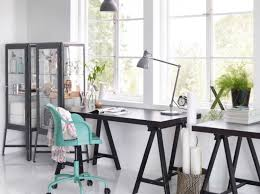 work desk ideas white office. Modren Work Shabby Two Workdesk Design In Charming Scheme Intended Work Desk Ideas White Office R