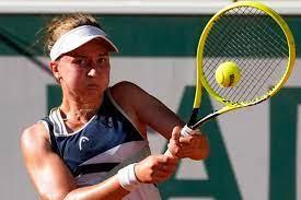 Barbora Krejcikova Sets Up Final vs Anastasia Pavlyuchenkova Beating Maria  Sakkari - Marketshockers