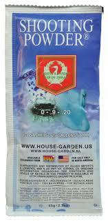 house garden shooting powder