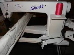 133 best LONG ARM QUILTING MACHINES & PATTERNS images on Pinterest ... & HQ 18 Avante Handi Quilter long arm quilting machine & frame w extras Adamdwight.com