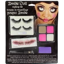 halloween makeup kit for kids. halloween make up kit zombie doll makeup with eyelashes tattoos paint for kids n