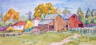 fineart gallery original art watercolor paintings landscape art painting gallery