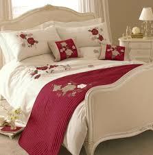 cream embroidered duvet cover