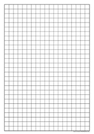 1 Grid Paper 1 Centimeter Grid Paper Coordinate Plane Printable