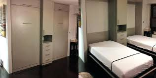 beds murphy bed with closet inside