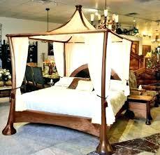king canopy bed frame metal size for diy