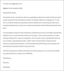 Resign Template Formal Resignation Letter 40 Download Free Documents In Word Pdf