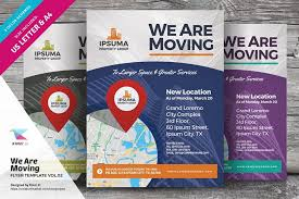 Moving Flyer Template We Are Moving Flyer Vol 02 By Kinzi21 On Creativemarket