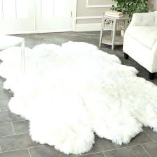 fake animal skin rugs light brown fur rug area sheepskin interior hide with head f fake animal skin rugs