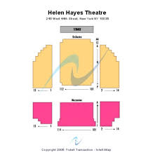 Hayes Theater Seating Chart Helen Hayes Theatre Tickets In New York Helen Hayes Theatre