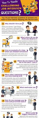 best things to say in an interview job interview questions and answers infographics mania career