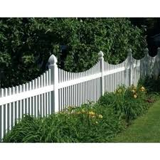 vinyl lattice fence panels. White Vinyl Fence Panels Lowes Yukon Scallop Panel 73011753 Lattice