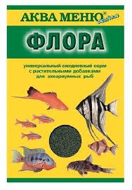 Сухой <b>корм Аква Меню Флора</b> для рыб — купить по выгодной ...