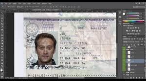 New Template Uk Template Passport Templates 2016 Id Psd