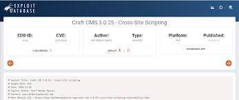 Craft CMS 3.0.25 – CROSS-SITE SCRIPTING VULNERABILITY | Raif Berkay ...