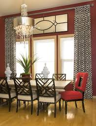 casual dining room curtains. Adorable Decorating Ideas Of High Ceiling Window Treatments Along With Cool Curtain Rods And Stripes Loose Curtains Image Casual Dining Room R
