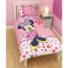 Pink Minnie Mouse Bedroom Decor Minnie Mouse Duvet Cover