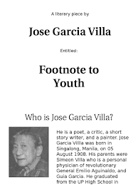 Top 10 Punto Medio Noticias Footnote To Youth By Jose Garcia Villa