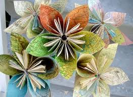 Recycled Flower Paper Elegant Flowers Made From Recycled Paper Recycled Things