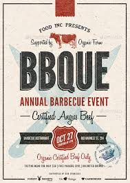 Bbq Poster Bbq Event Flyer Poster By Moodboy Graphicriver